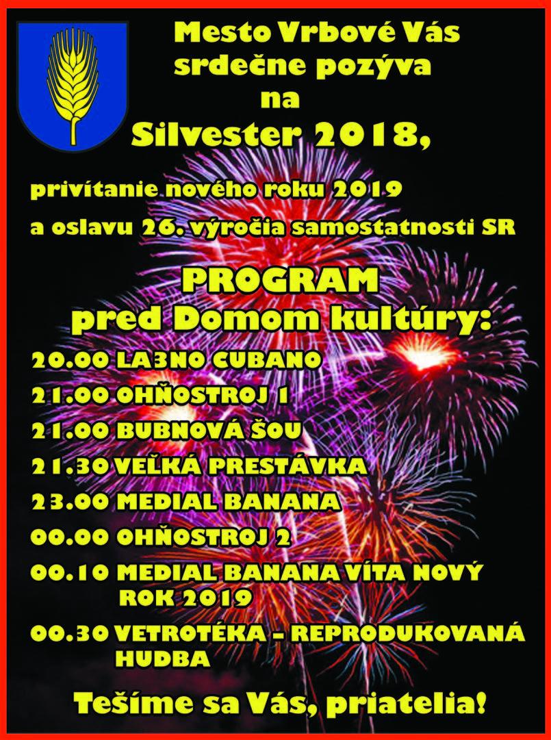 635ade4b4 SILVESTER 2018 – Oficiálne stránky mesta Vrbové